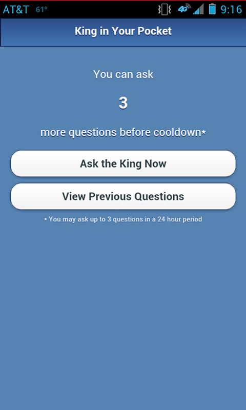 THE KING IN YOUR POCKET - screenshot