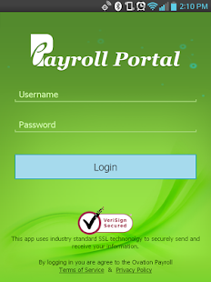 ePayroll Portal- screenshot thumbnail