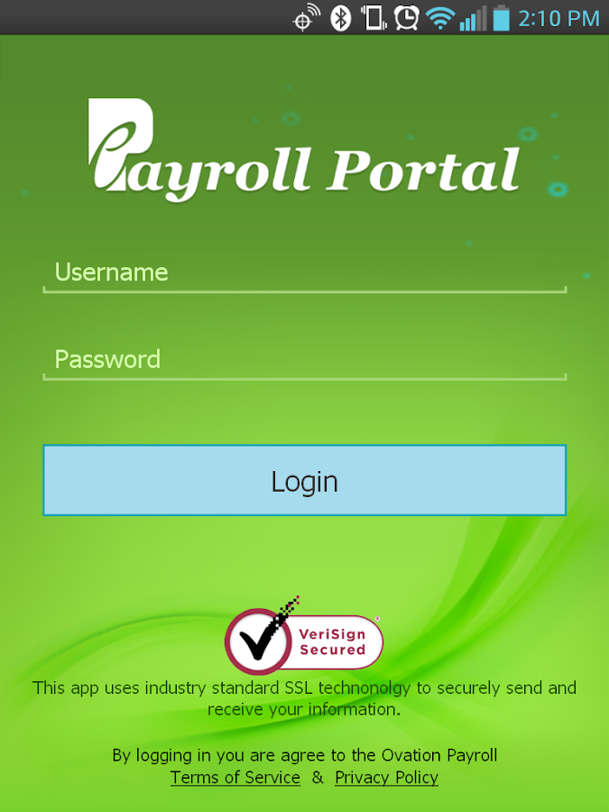 ePayroll Portal- screenshot