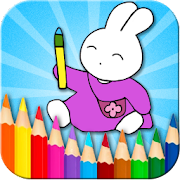 Coloring Doodle - Bunny GO