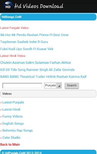 Full HD Videos Download