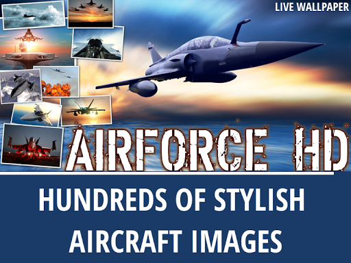 Airforce live wallpaper HD