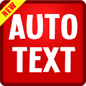 Auto Text Emoticon (BBM WA FB) icon