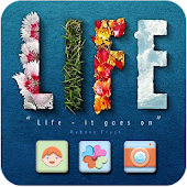 Simlpe Life Theme HD CLauncher