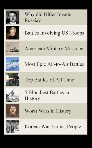 【免費書籍App】World History Lists - MILITARY-APP點子