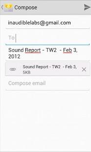 Sound Report Writer- screenshot thumbnail