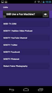 MODTV Fashion Network - screenshot thumbnail