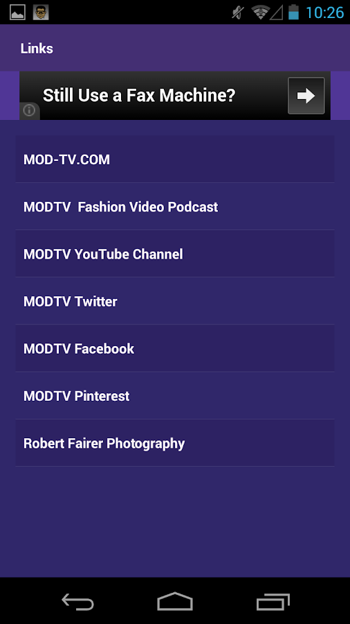 MODTV Fashion Network - screenshot
