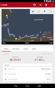 Runtastic Road Bike Tracker Screenshot 20