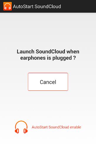 Autostart SoundCloud