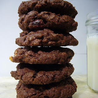 Whole Wheat Choco-Choco Chip Cookies.