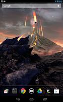 Screenshot of Volcano 3D Live Wallpaper