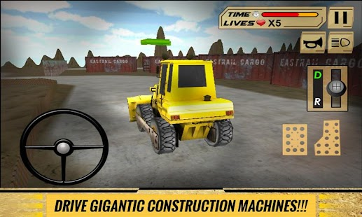 Sand-Excavator-Dump-Truck-Sim 3