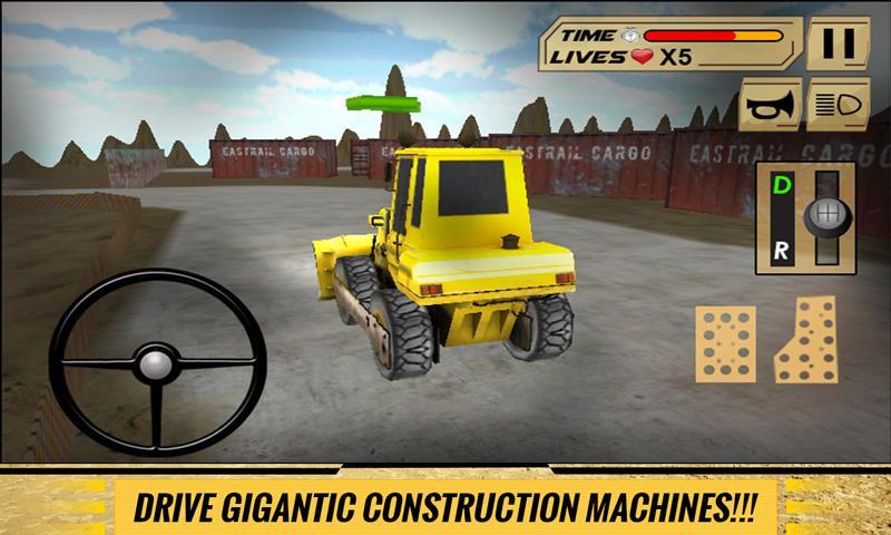 Sand-Excavator-Dump-Truck-Sim 18