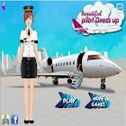 Beautiful Pilot Dress Up icon