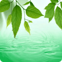Rain Water Drop Live Wallpaper icon
