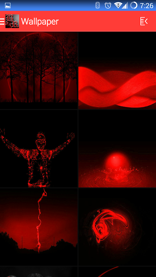 BloodRed Icon Pack - screenshot