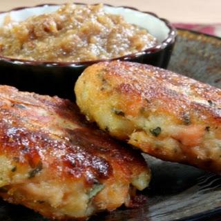 Paneer Fishcakes with Chutney