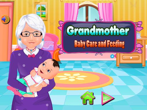 Grandmother Baby Care Feeding 6.7.4 screenshots 1