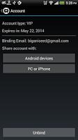 Screenshot of Ladder - 1 tap VPN