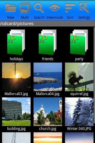 AndroPic - screenshot