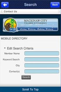Mackinaw City Chamber- screenshot thumbnail