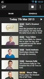 Gold Radio App Screenshot 2