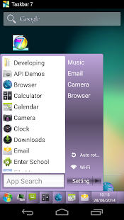 Taskbar 7 - screenshot thumbnail