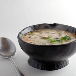 Coconut Chicken Soup.