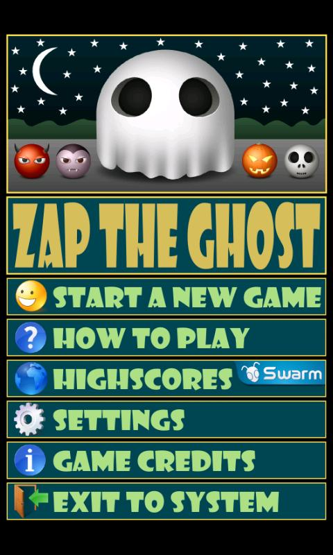 Zap The Ghost - screenshot