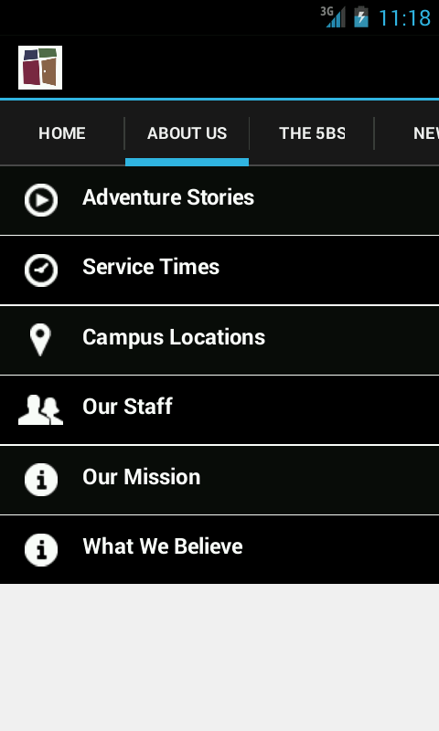 Church of the Open Door App - screenshot