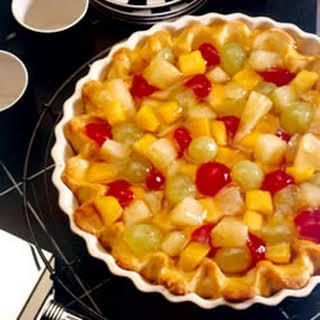 Fruit Cocktail Pie.