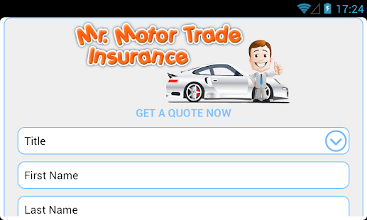 Mr Motor Trade Insurance UK- screenshot thumbnail