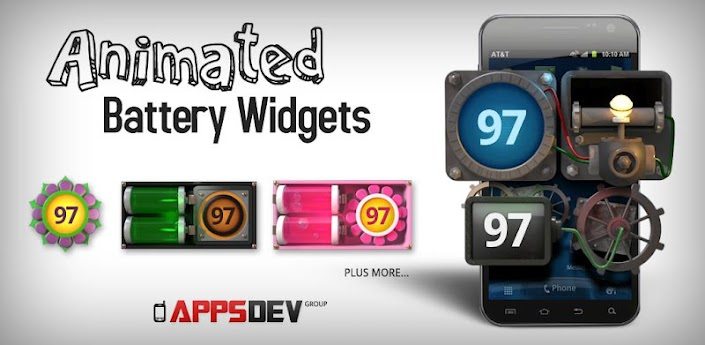 Animated Battery Widget apk v1.0.2 download