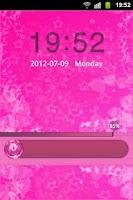 Screenshot of GO Locker Theme Pink Cute Star