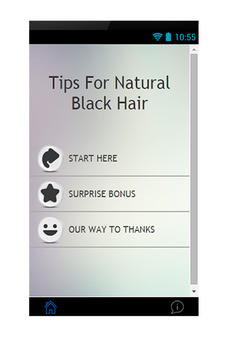 Tips For Natural Black Hair