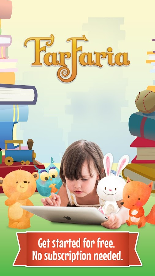 FarFaria Children's Storybooks- screenshot