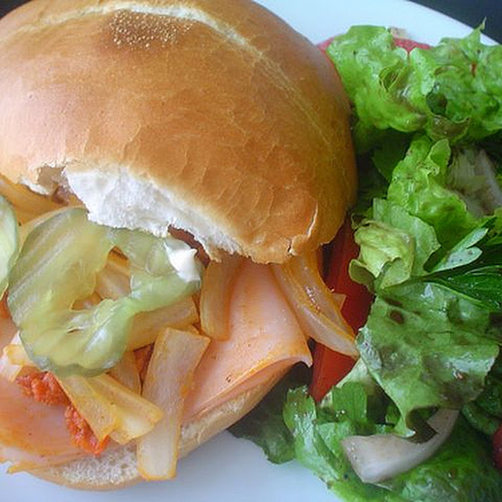 Ham and Chorizo Telera Bread Sandwich Recipe