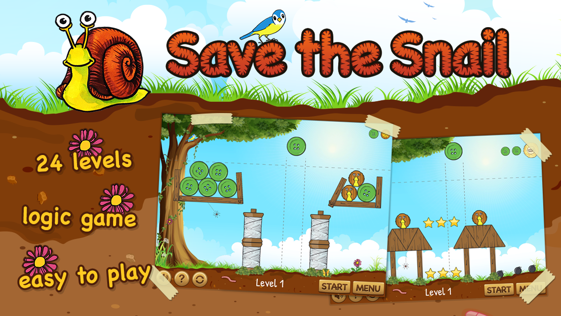Save the Snail- screenshot