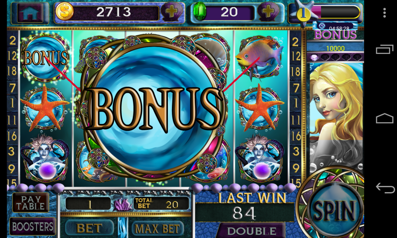 Mermaid Slots Free Games