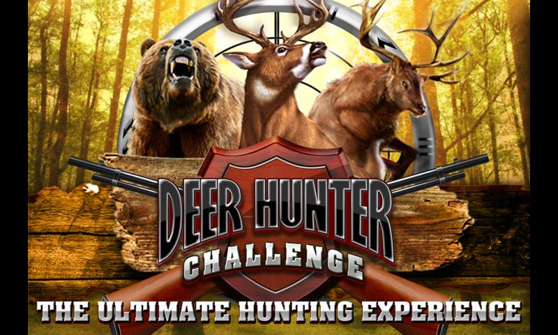 Deer hunter challenge shooting game for android phone