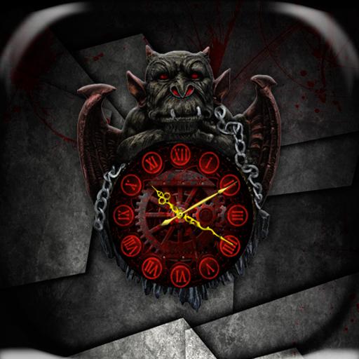 Gargoyle Clock Live Wallpaper 漫畫 App LOGO-硬是要APP