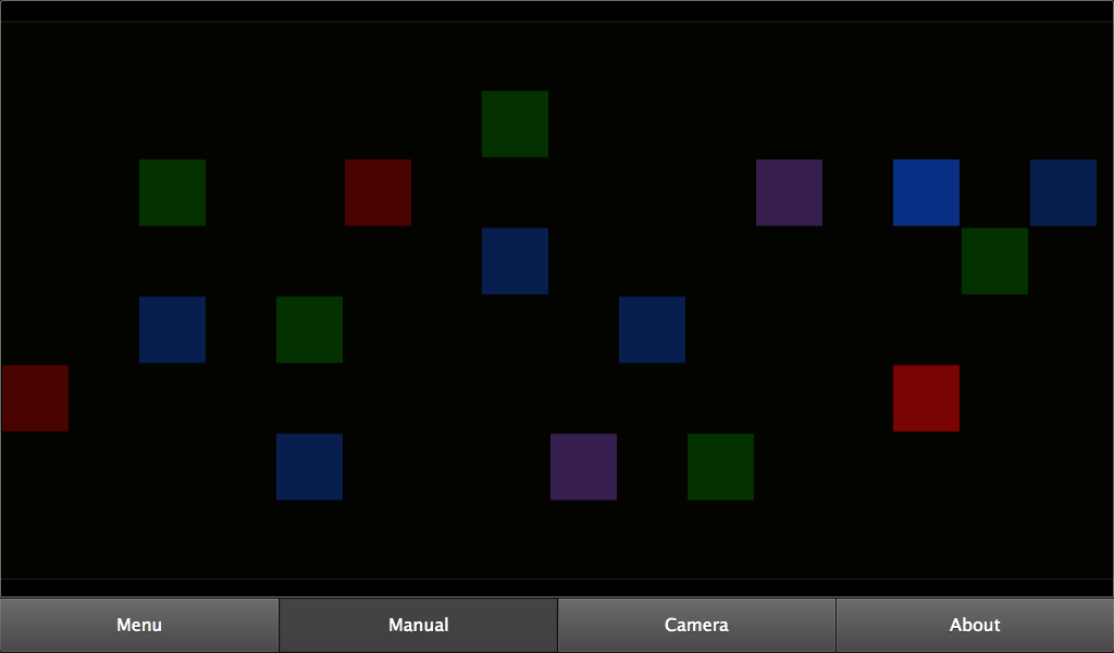 Color Sounds: Generative music - screenshot