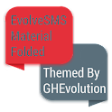 EvolveSMS Folded Red Material icon