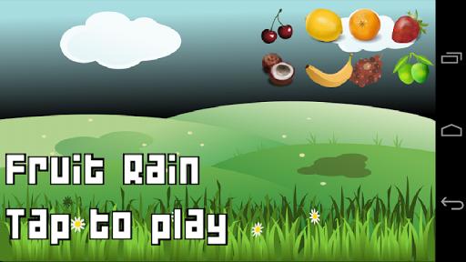 玩免費休閒APP|下載水果雨游戏 app不用錢|硬是要APP
