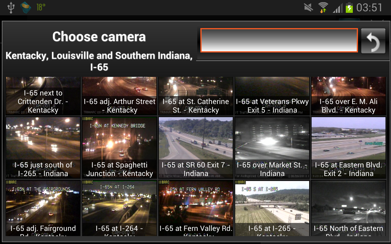 Cameras Louisville & Kentucky - screenshot