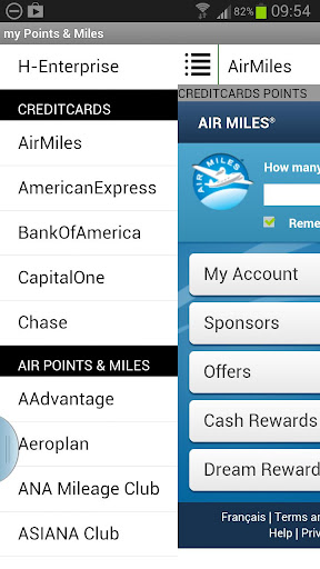 my Points and Miles