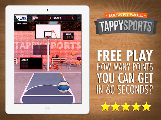 Tappy Sport Basketball NBA Pro Stars 1.6.19 screenshots 10