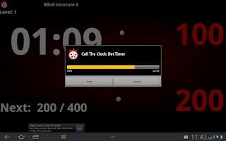 Screenshot of Talking Poker Timer - Clock