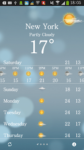 iWeather - Beautiful Weather